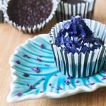 Sockerfria chokladmuffins med cashewkräm