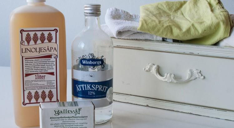 Giftfritt tvättmedel