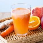 Vitaminboost med färskpressad juice