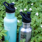 Bara vanligt kranvatten i giftfria vattenflaskor