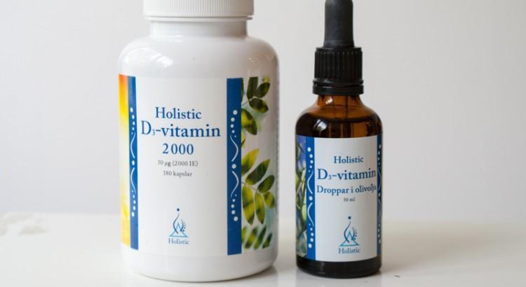 D-vitamin från Holistic
