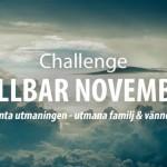 Hållbar November Challenge och vegetarisk månad
