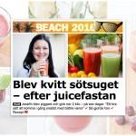 Om juicefasta i Aftonbladet Plus