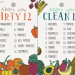 Dirty dozen & Clean fifteen för 2016