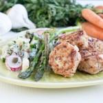 Falsk potatissallad med kycklingbiffar (LCHF/Paleo)