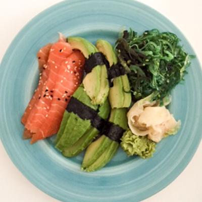 Sushi utan ris