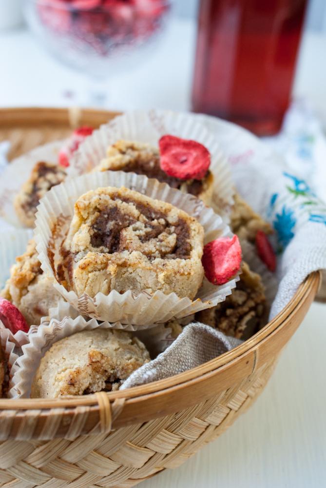 Kanelrullar utan gluten och socker