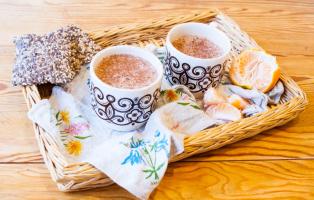 Varm choklad på sockerfritt vis