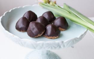 Chokladbiskvier utan socker
