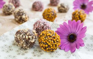 Chokladbollar med nötsmör (den mjölkfria varianten)