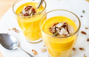Guldmjölkssmoothie - en variation till guldmjölk
