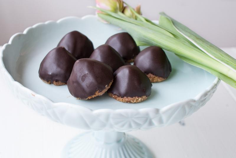 Chokladbiskvier utan socker och gluten
