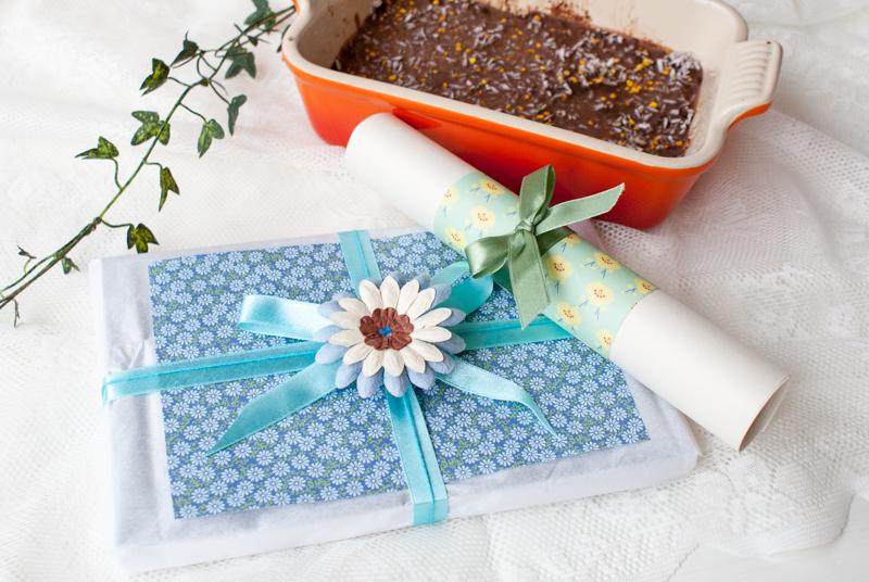 Presenter och sockerfri brownie